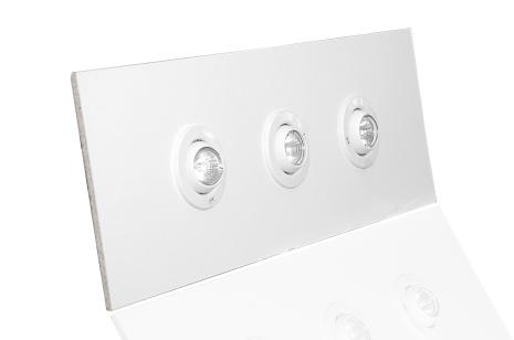 Belysningssats 3x20w 900x335mm