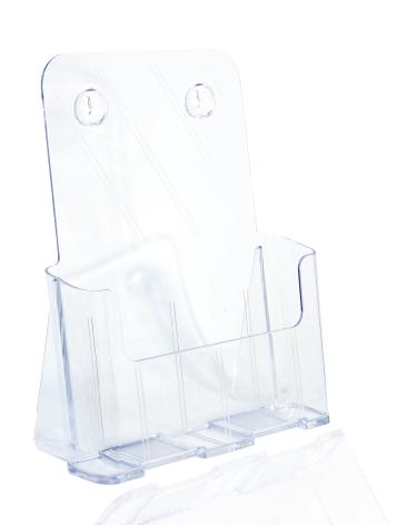 Broschyrfack för Bord/Vägg
