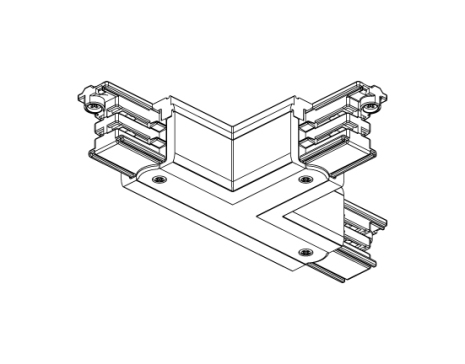 T-förgrening XTS 36 Vit