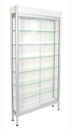 Glasmonter 935x200x1835 6 hyll