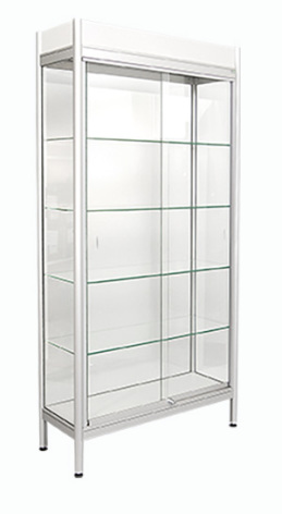 Glasmonter 935x335x1835 4 hyll