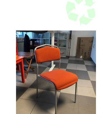 Stol Orange tyg